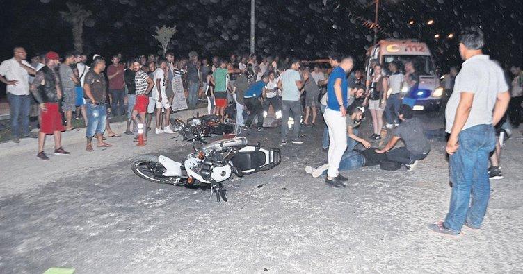 Kaza festivale gölge düşürdü