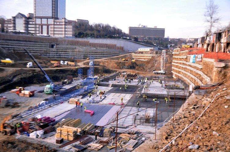 Vodafone Arena Stadı inşaatında son durum
