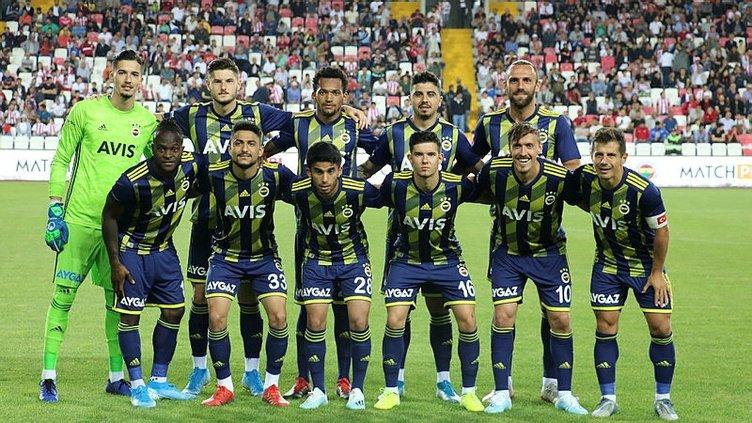 Sivasspor - Fenerbahçe maçının röntgeni