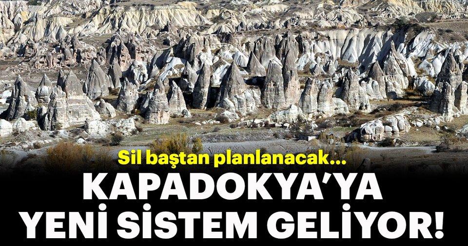 Kapadokya'ya tek elden yönetim, sil baştan planlama!