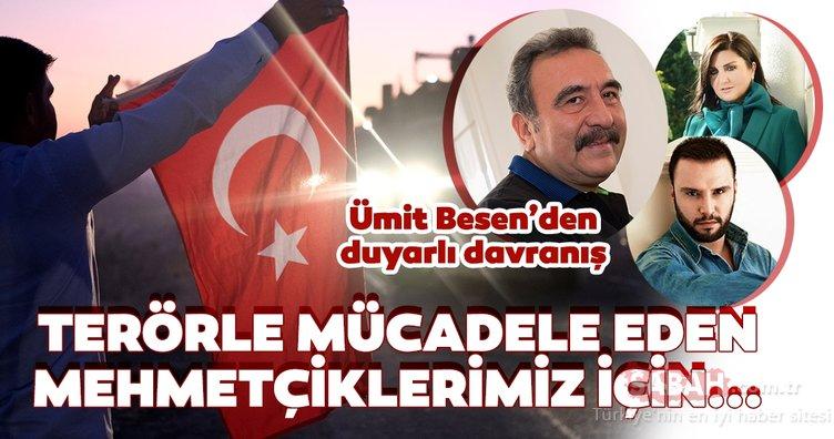 Barış Pınarı Harekatı'na destek veren ünlü isimlerden duyarlı davranış! Usta sanatçı Ümit Besen konserlerini iptal etti...