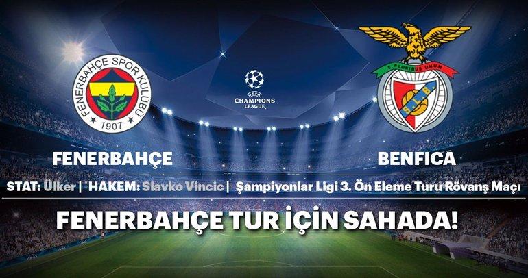 CANLI | Fenerbahçe - Benfica