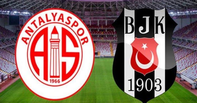 Antalyaspor Beşiktaş maçı hangi kanalda saat kaçta ne zaman?