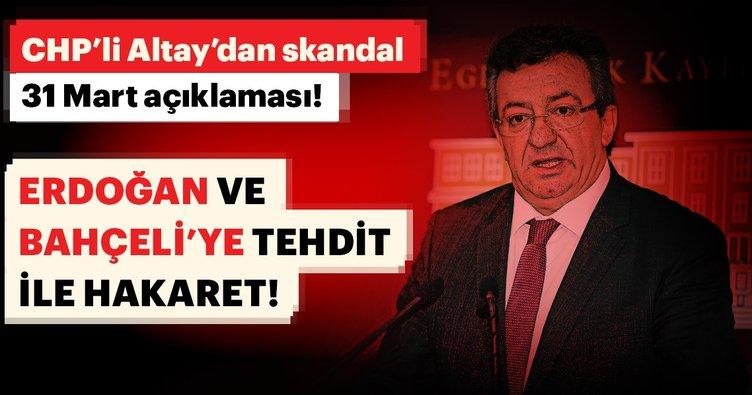 Erdoğan ve Bahçeli'ye tehdit ile hakaret