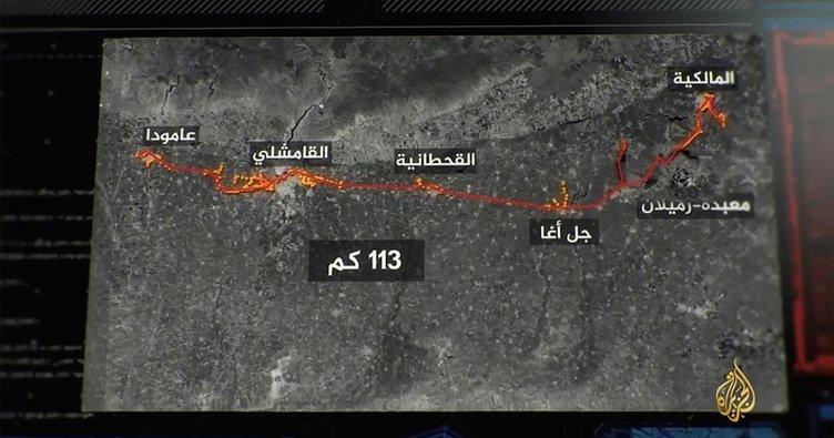 PKK'dan Haseke'de 113 KM'lik tünel! Türkiye sınırına paralel, 1500 çıkışı var...