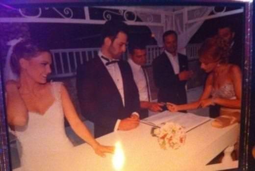 Aslı Enver ile Birkan Sokullu evlendi