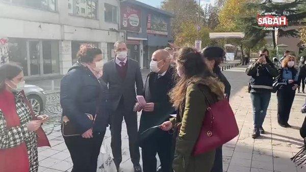 Polisler KADES için sokakta! Kaymakam ve İlçe Emniyet Müdürü de katıldı | Video