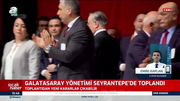 Son dakika! Galatasaray yönetimi Türk Telekom Stadyumu'nda toplandı! Yeni kararlar çıkabilir | Video