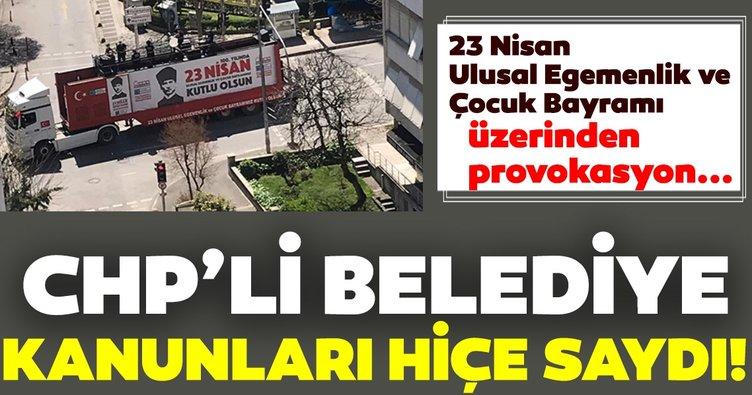 CHP'li Kadıköy Belediyesi kanunları hiçe sayıyor!