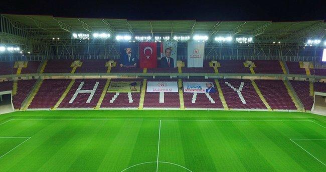 Hatayspor'un yeni stadyumu Başkan Erdoğan'ın katılımıyla yarın açılacak! 25 bin kişi...