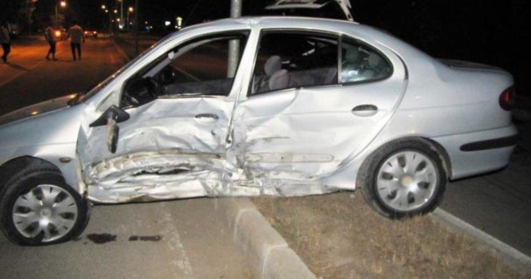 Hisarcık'ta trafik kazası: 7 yaralı