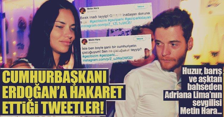 Metin Hara'nın hakaret içeren tweetleri ortaya çıktı