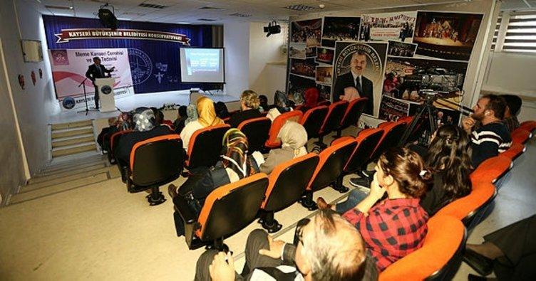 Büyükşehir Belediyesinin sağlık seminerleri sürüyor