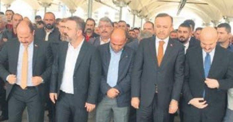 Başkan Ercan'ın acı günü