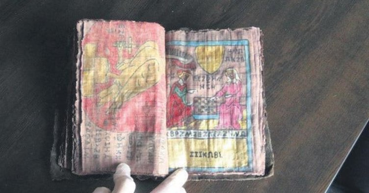 Paha biçilemeyen kitabı 'çöpte bulduk' dediler