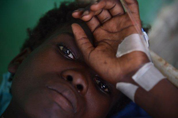 Matthew'un ardından kolera da öldürüyor