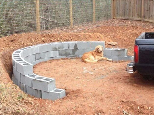 Bahçesine bakın ne yaptı!