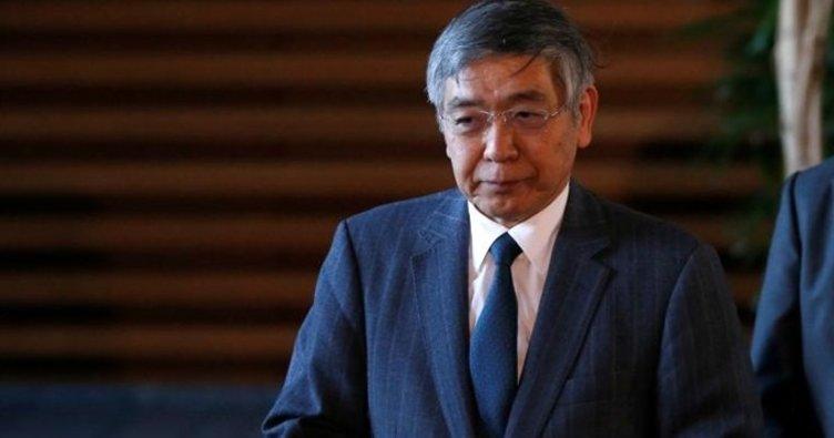 Japonya Merkez Bankası Başkanı Kuroda: Şartlar ağır ancak daralma diğer bölgelere göre ılımlı
