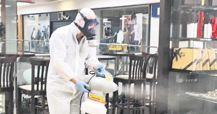 Orion ve Orion2 nanoteknolojiyle dezenfekte ediliyor