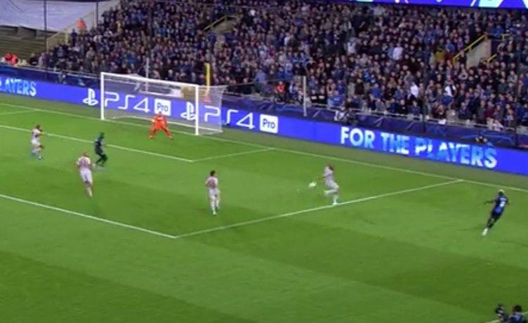 Brugge - Galatasaray maçından kareler