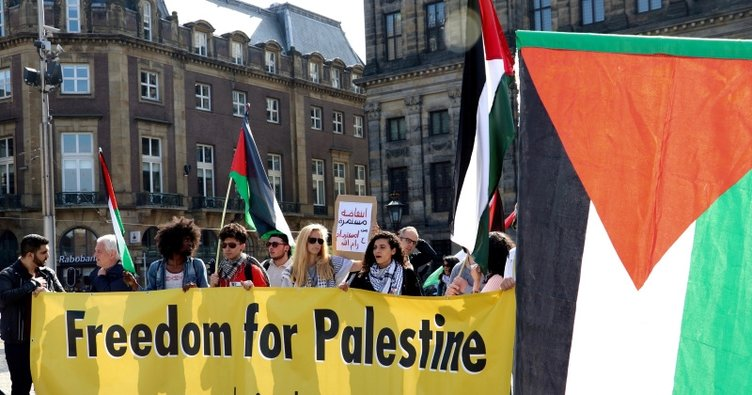 Hollanda'daki Yahudilerden Büyük Dönüş Yürüyüşüne destek