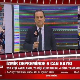 Kandilli Rasathanesi İzmir'deki depremi aHaber'e değerlendirdi