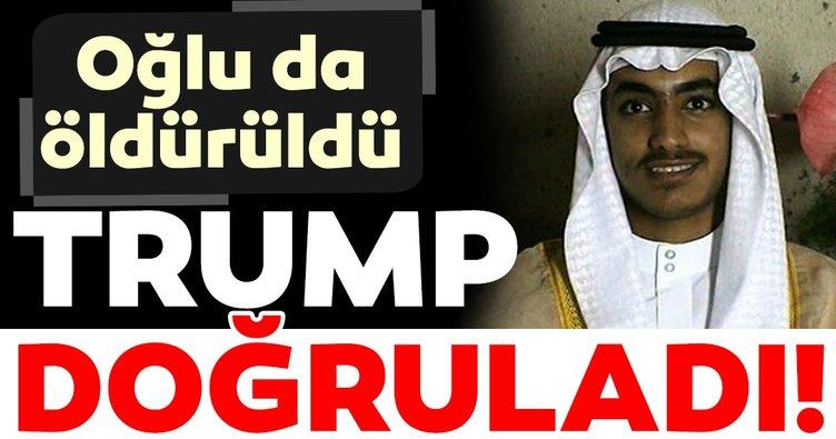 Son dakika haberi: Donald Trump açıkladı: Usame bin Ladin'in oğlu öldürüldü