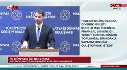 """Hazine ve Maliye Bakanı Albayrak """"Enflasyon Ekim'de yüzde 8'leri görecek"""""""