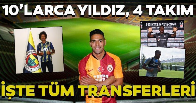 İşte Galatasaray, Fenerbahçe, Beşiktaş ve Trabzonspor'un yaptıklar tüm transferler