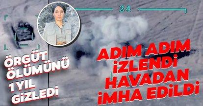 Son dakika: YPG/PKK'nın sözde tabur komutanı Zinarin kod adlı Narin Oso adım adım izlendi havadan imha edildi
