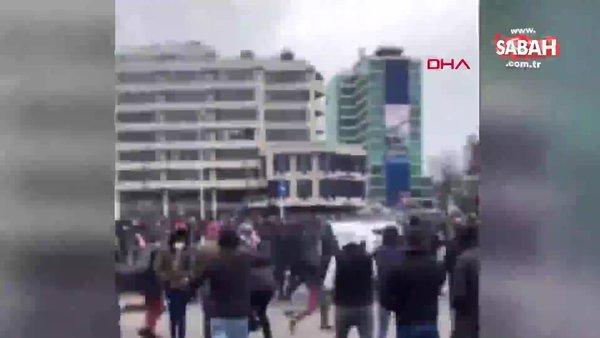 Son dakika: Hollanda'da koronavirüs kısıtlamaları halkı sokağa döktü! | Video