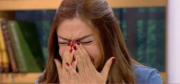 Sevda Demirel canlı yayında gözyaşlarına boğuldu