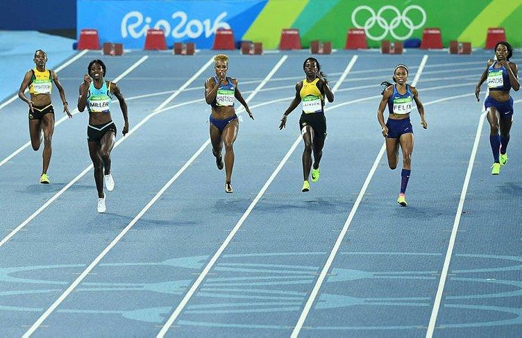 Altın madalya için öyle bir hareket yaptı ki...