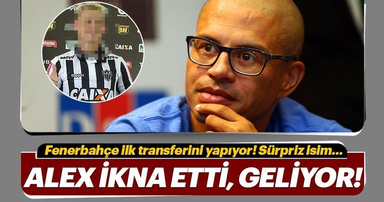 Fenerbahçe ilk transferini yapıyor! Ali Koç ve Alex de Souza'nın planı...