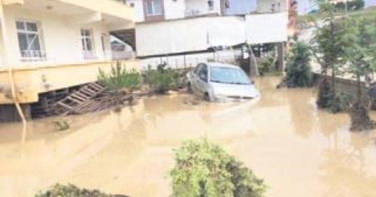 Şiddetli yağışlar etkisini sürdürüyor