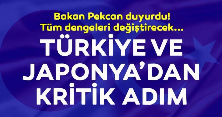 Bakan Pekcan duyurdu! Türkiye ve Japonya'dan kritik adım