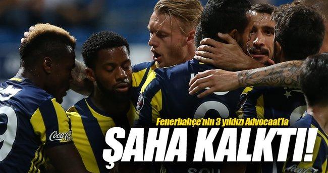 Fenerbahçe'nin 3 yıldızı Dick Advocaat'la şaha kalktı
