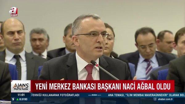 Son dakika: Merkez Bankası yeni başkanı Naci Ağbal oldu! Naci Ağbal kimdir?   Video