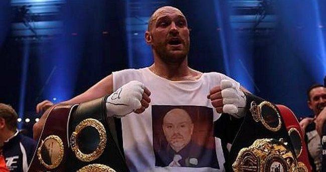 Tyson Fury'nin testi pozitif çıktı