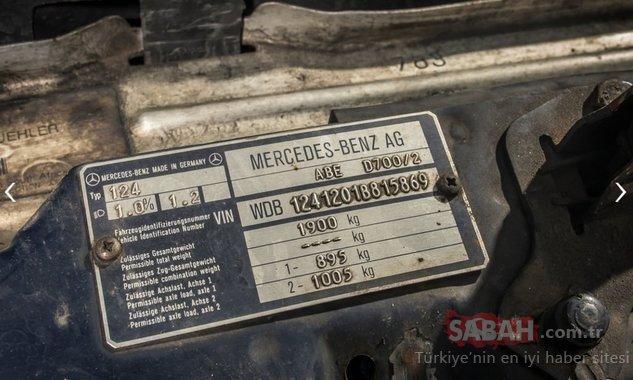 Mercedes 200 D ile 1 milyon km yaptı! Arabanın motoru şaşkına çevirdi
