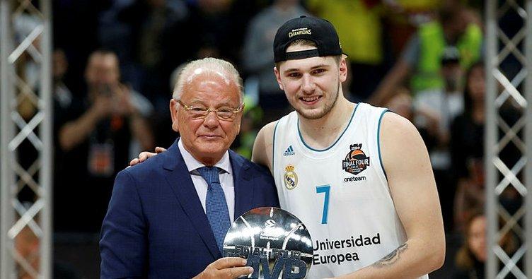 THY Avrupa Ligi Dörtlü Final MVP'si Luka Doncic