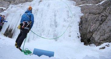 Erzurum'da Uluslararası Buz Tırmanış Festivali başladı