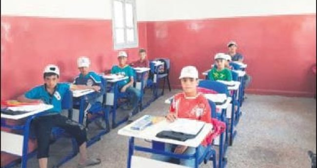 Keçiören Belediyesi'nden Cerablus'a eğitim desteği