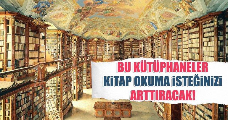 Kütüphane haftasının önemini hatırlatan en güzel kütüphaneler!
