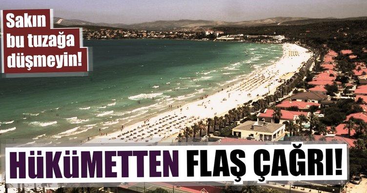 Dışişleri Bakanı'ndan turizmcilere önemli çağrı