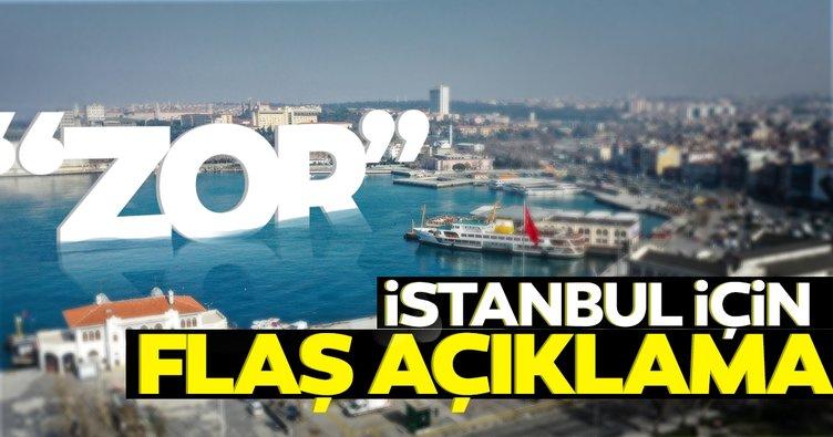 Son dakika haberi: Turuncu listede yer alan İstanbul için flaş açıklama: Açılma zor