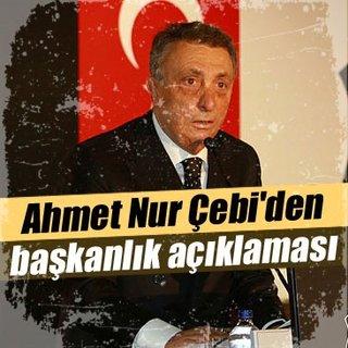Ahmet Nur Çebi'den başkanlık açıklaması