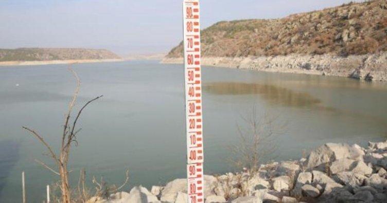 Ocakta bol yağış barajlara yaradı
