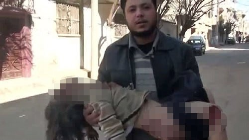 Humus'ta Esad katliamı
