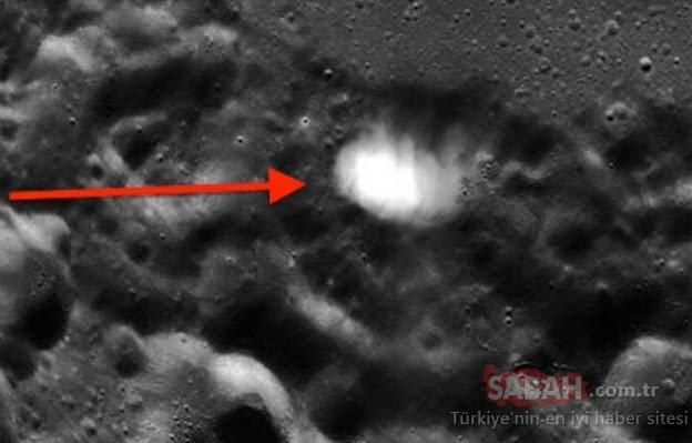 NASA farkında olmadan paylaştı! Ay'dan gelen fotoğraflar tüyler ürpertti!